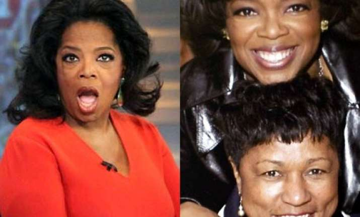 oprah winfrey is a controlling racist slams stepmom barbara