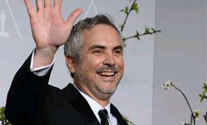 oscars 2014 alfonso cuaron wins best director oscar for