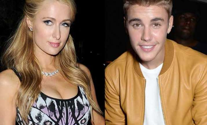 paris hilton flirted with justin bieber