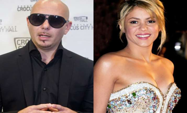 pitbull s new song with shakira leaks online