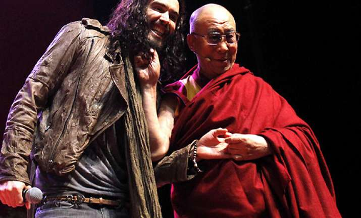 post divorce russell brand considered turning monk