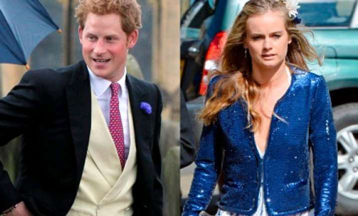 prince harry to marry girlfriend cressida bonas reports