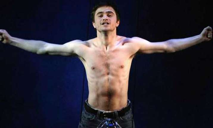 radcliffe comfortable being nude on screen