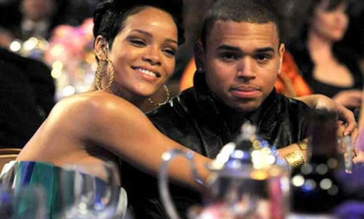 rihanna brown ignore each other