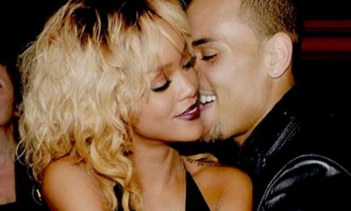 rihanna got over and done with chris brown