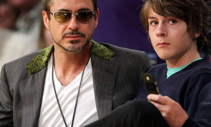 drug treatment for downey jr. s son