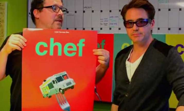 robert downey jr. designed chef posters