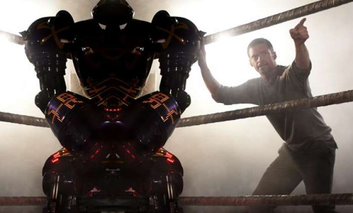 robot action movie real steel wins weekend box office war