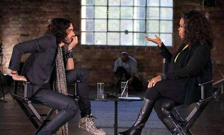 russell brand opens up on winfrey s show about drug