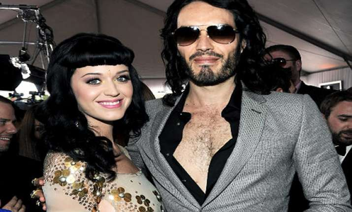 russell brand loses his cool over katy perry question