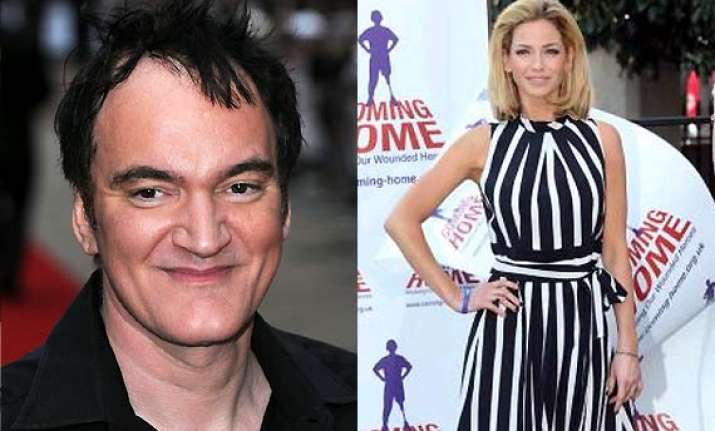 sarah harding wants to work with quentin tarantino