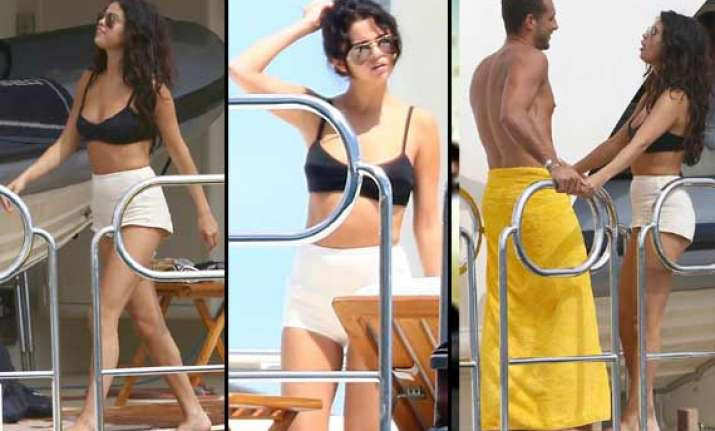 selena gomez gets wet and wild on her 22nd birthday
