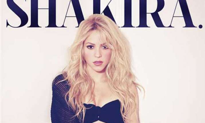 shakira launches la la la video