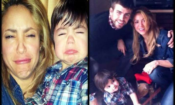 what has shakira learnt from her son