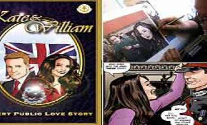 soon a comic book on kate william romance