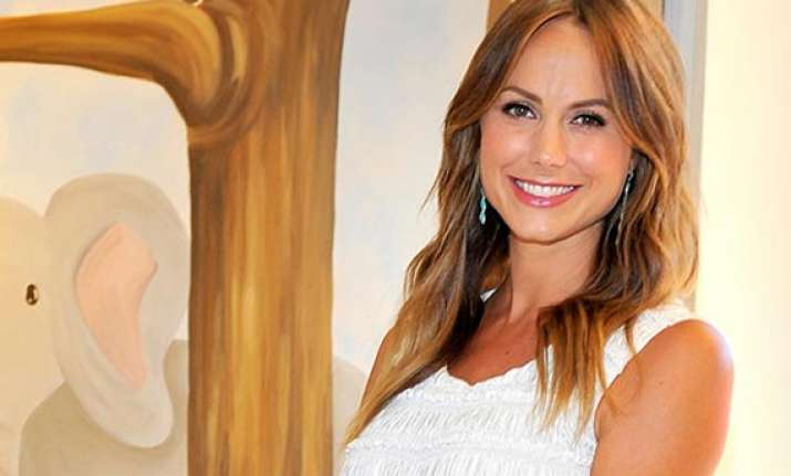 stacy keibler blessed with a baby girl