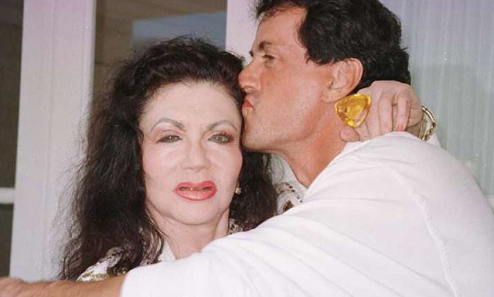 stallone s mother suffers heart attack