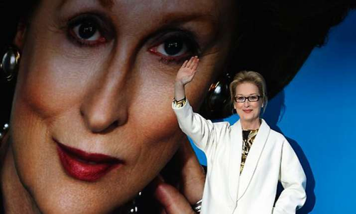 streep becomes iron lady in london