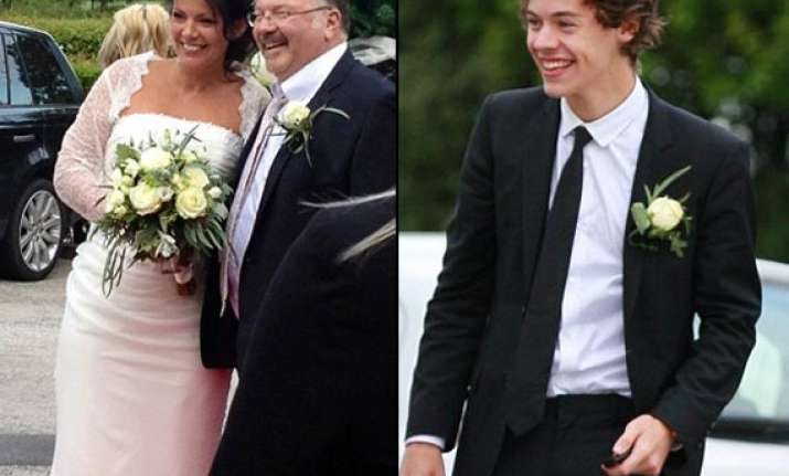styles couldn t stop smiling as best man