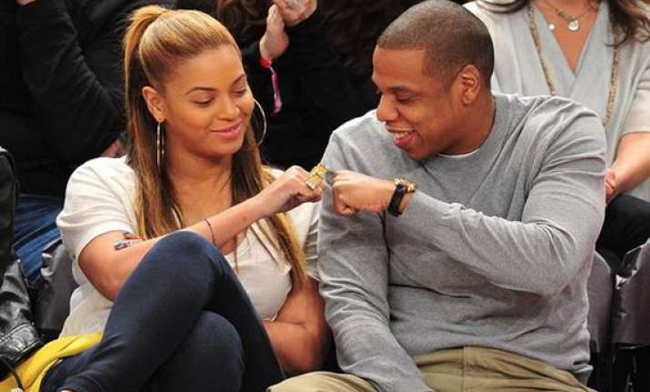 sunday fun day for beyonce jay z at ny concert