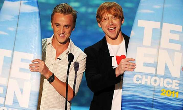 teen choice awards harry potter gets special tribute daniel