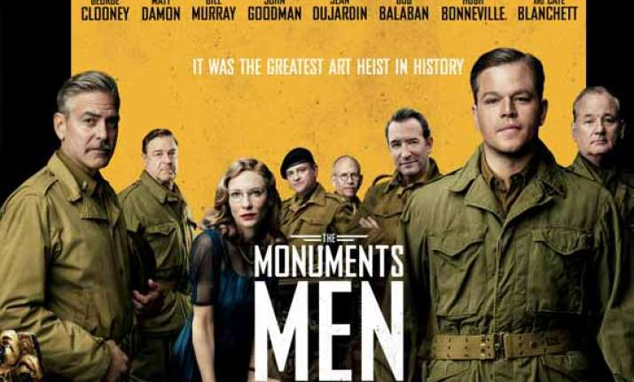 the monuments men movie review a monumental mess