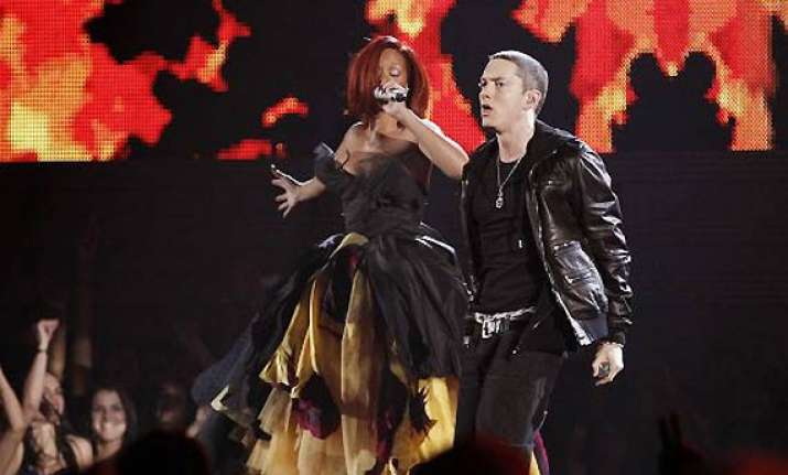 eminem rihanna debut the monster