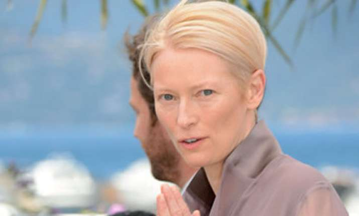tilda swinton becomes chanel girl
