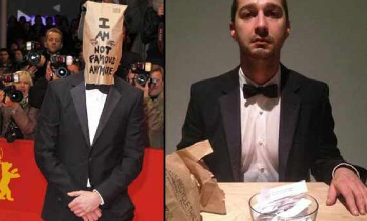 transformers actor shia labeouf mounts camera on his p s