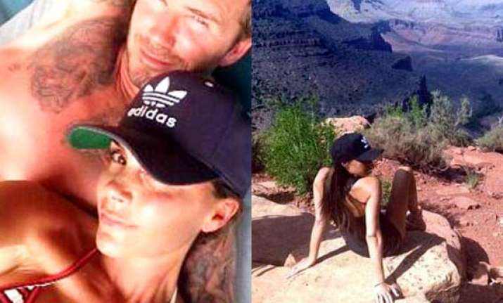 victoria beckham celebrates birthday with hiking see pics