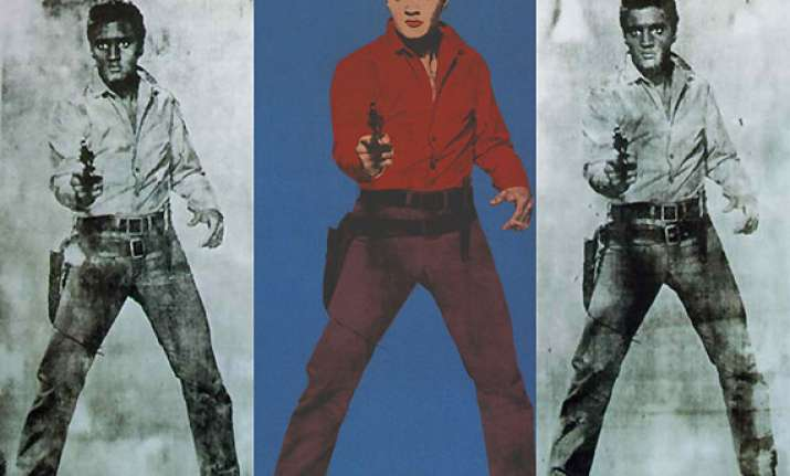 warhol s elvis presley potrait could fetch 50 million