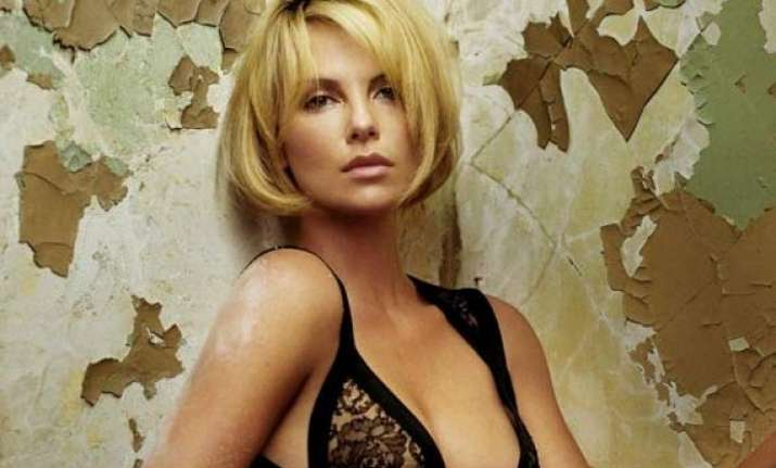 when charlize theron hit rock bottom