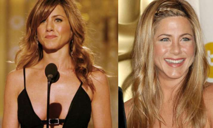 when jennifer aniston ditched her sleek style see pics