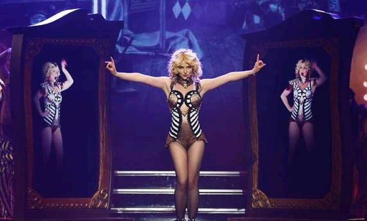 will britney spears stay with axis theatre for 12 mn