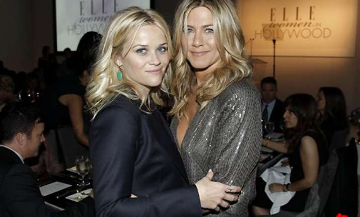 witherspoon shares sexy secret about aniston
