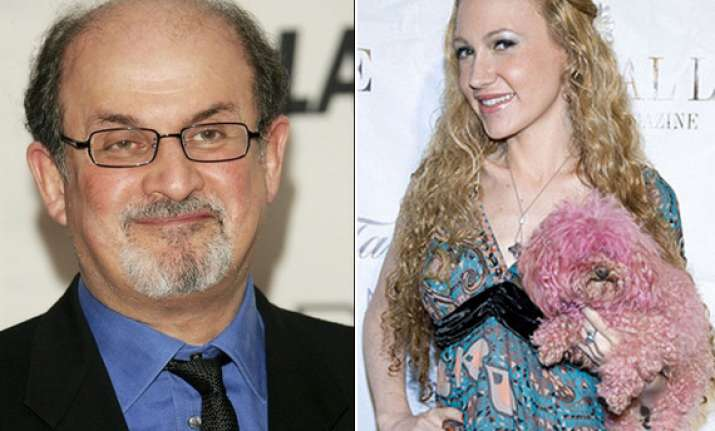 wooed and dumped online socialite calls rushdie unchivalrous