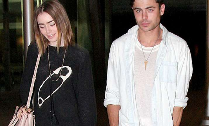 zac efron lily collins spark patch up rumours