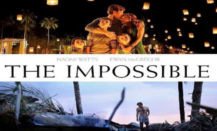 the impossible to release in india jan 4