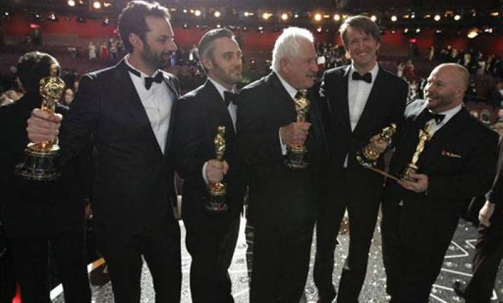 the king s speech crowned best picture wins four oscars