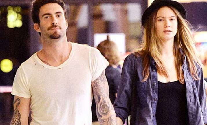 adam levine behati prinsloo tied the knot in mexico