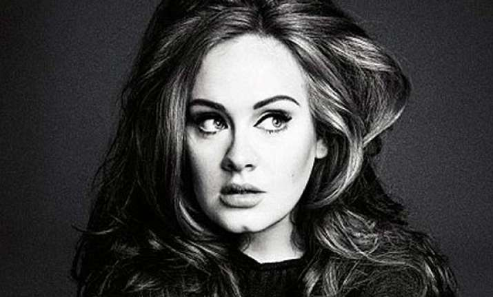 adele undergoing photo healing therapy