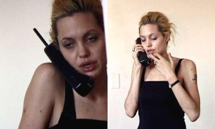 shocking angelina jolie video as drug addict leaked watch