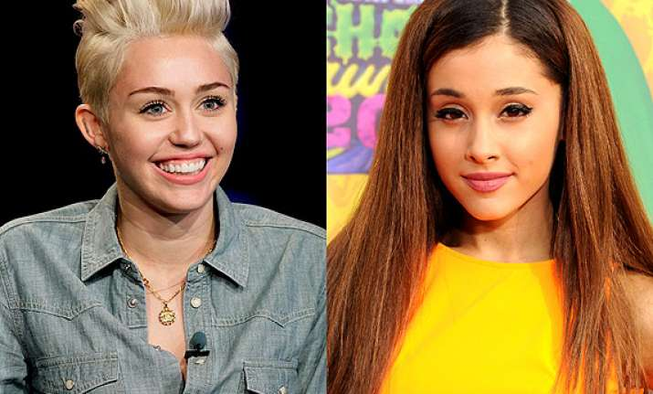 ariana grande not copying miley cyrus