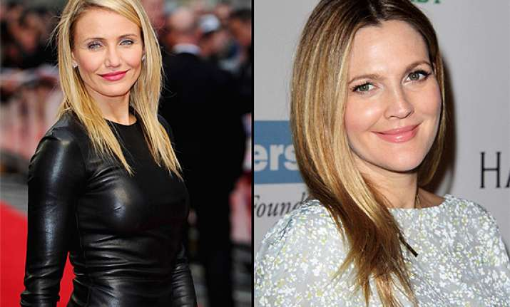 cameron diaz ready to babysit drew barrymore s daughter