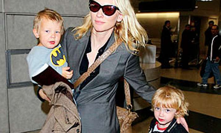 kids persuaded me to sign how to train... cate blanchett