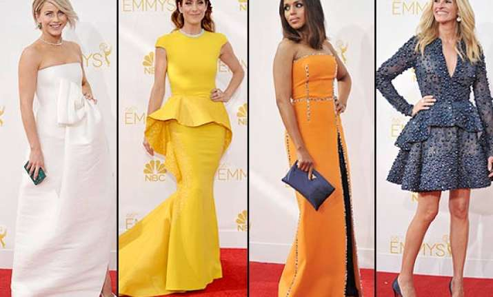 emmy awards 2014 stars dazzle at the red carpet see pics