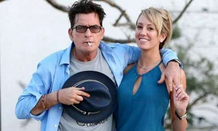 charlie sheen engaged to girlfriend