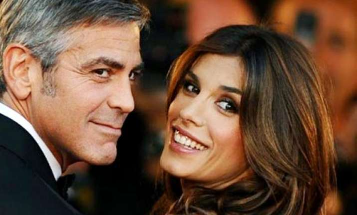 george clooney s ex happy for him alamuddin