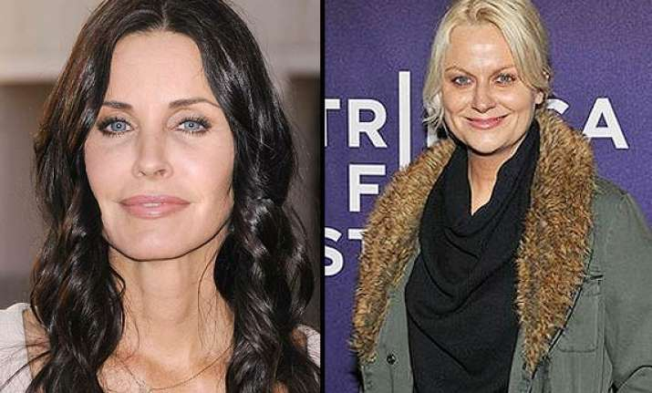courteney cox and amy poehler campaign against domestic