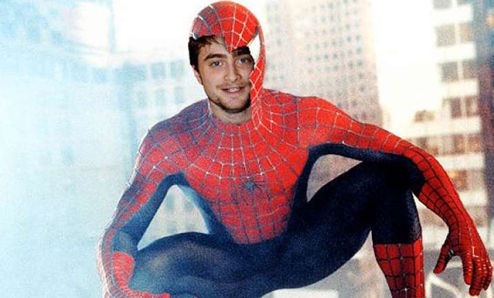 harry potter daniel radcliffe becoomes spider man now